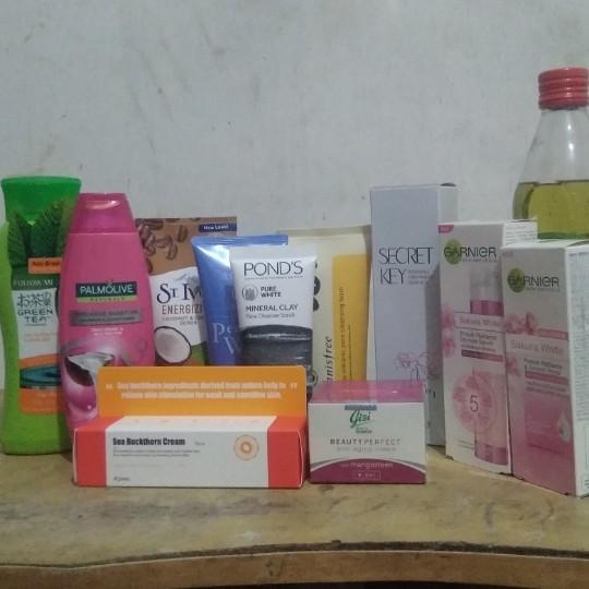 Preloved skincare