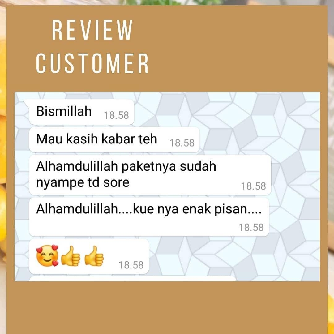 Review Customer Kue kering