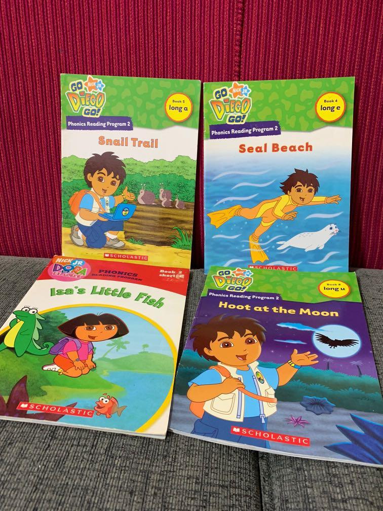 Scholastics Go Diego Go Nick JR books, Books & Stationery ...