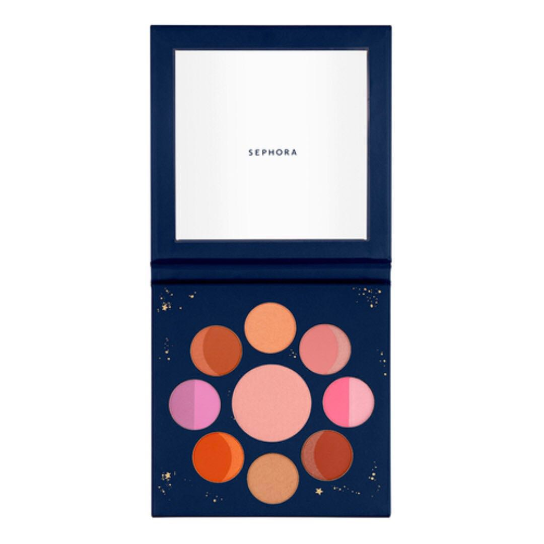 Sephora Collection Moon Phases Face and Cheek Palette (Limited Edition 2018)