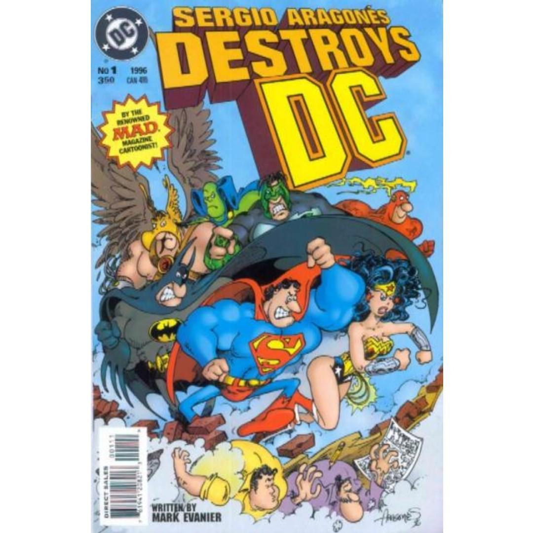 Sergio Aragones Destroying DC