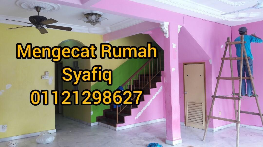 Servis cat rumah/ambil upah cat syafiq 01121298627