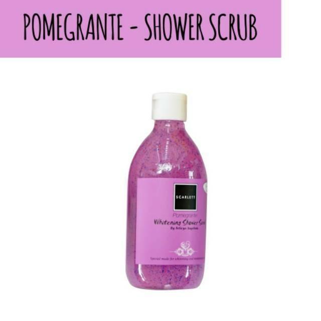 Shower scrub scarlett