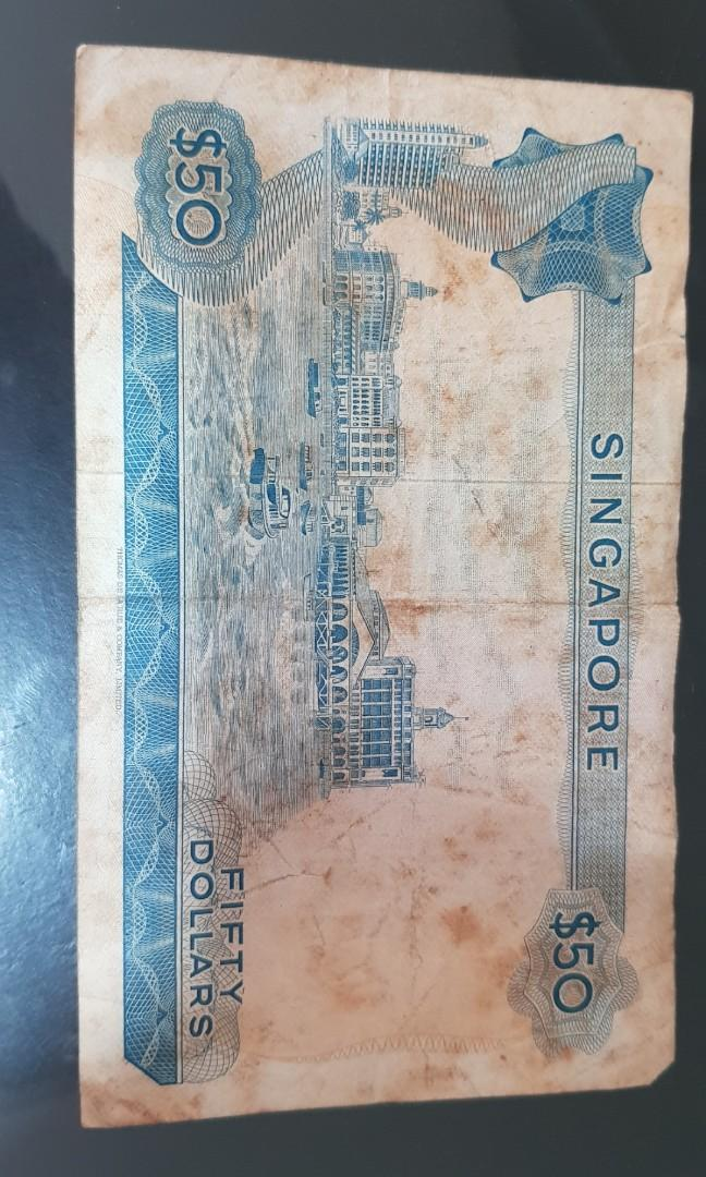 SGD $50 old note