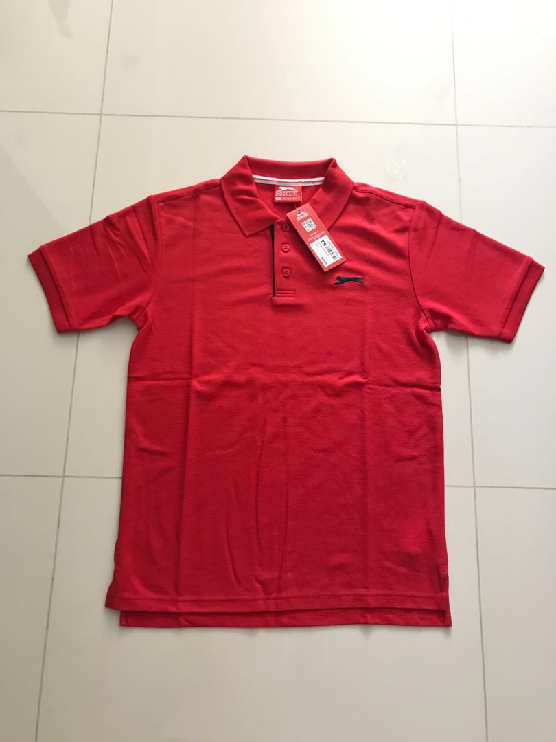 2e7051bbbe Slazenger Men's Red Polo Shirt, Men's Fashion, Clothes, Tops on ...