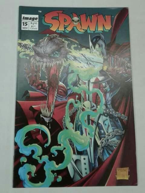 Spawn #15 (♡ McFarlane - Cover Art) - Image Comics