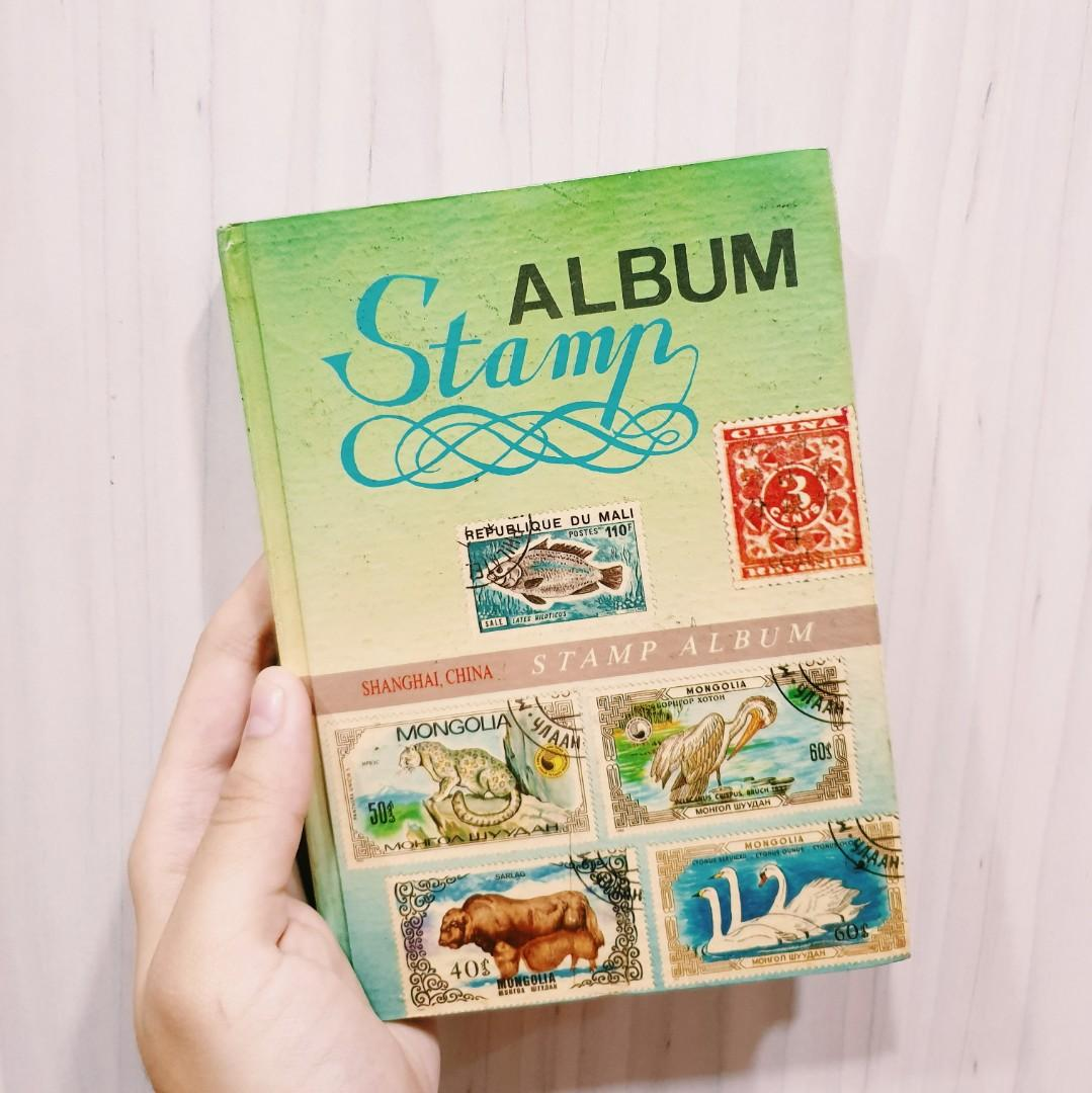 Stamps Album Collection