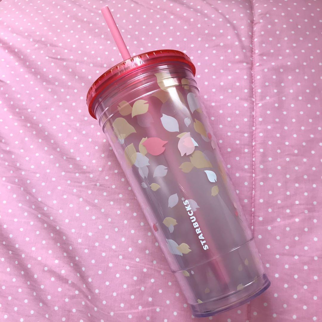 Starbucks Venti Tumbler Pink 591 ml