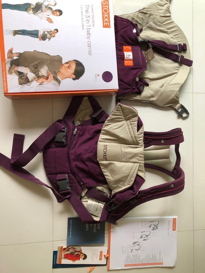 Stokke Mycarrier 3 In 1 Carrier Babies Kids Strollers Bags