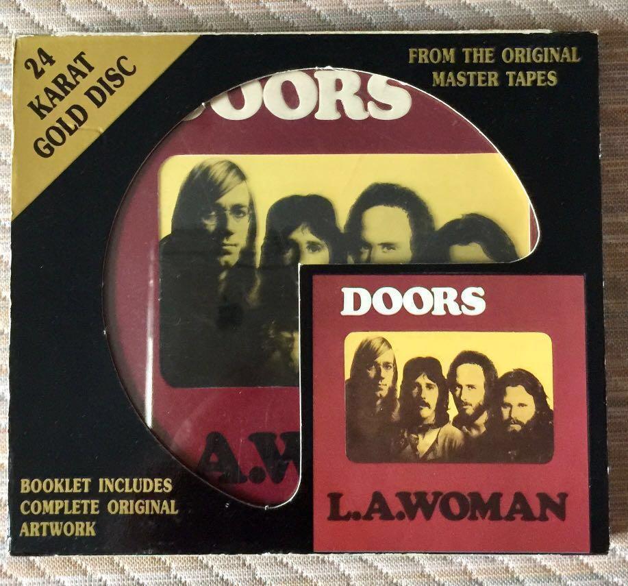 THE DOORS, L A  WOMAN, DCC GOLD CD  RARE JAPAN PRESSING