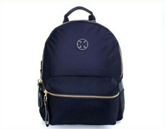 Tory Burch Nylon Zip Backpack / Ransel Tory Burch Original Murah / Tory Burch Backpack Original