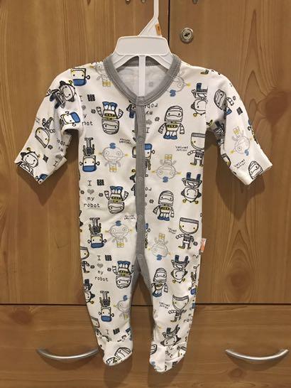 VELVET JUNIOR Baby Sleepsuit
