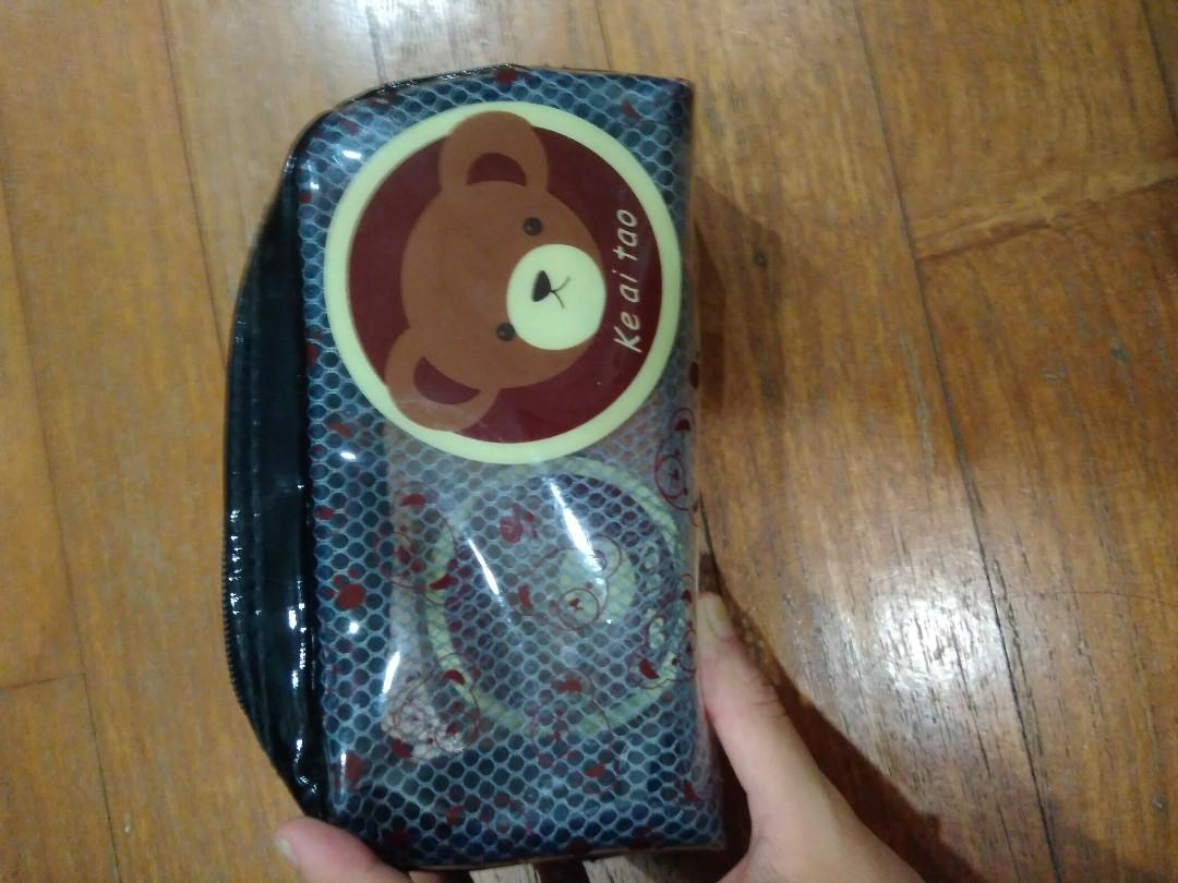 Waterproof netted pouches