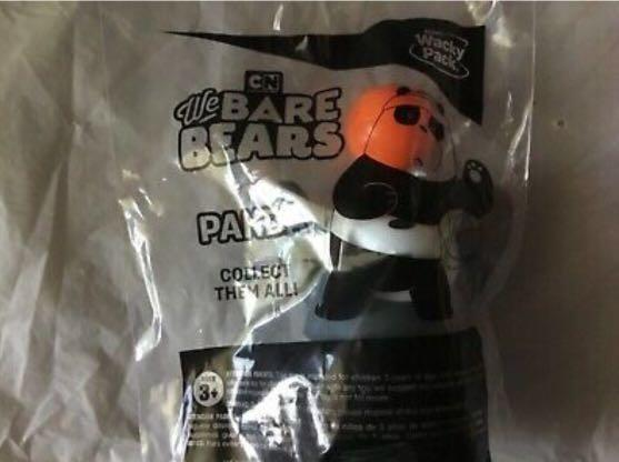 We bare bear figures and rings   Ready stock, Toys & Games