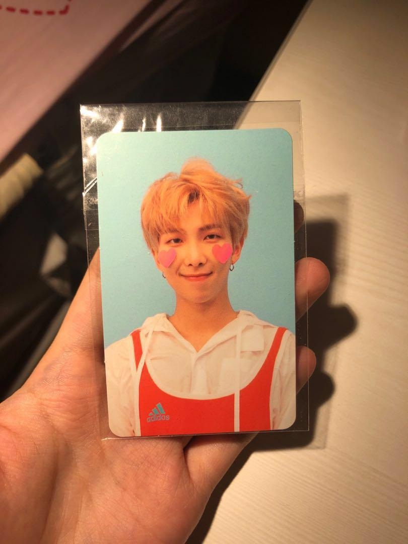 WTT: bts namjoon pc ly answer FOR TAE/V (version F) photocard