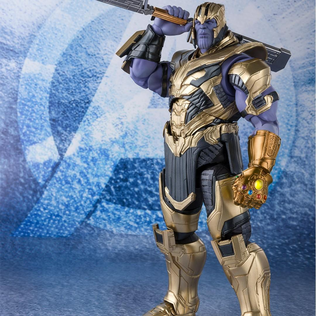 [YH]全新現貨 日版 Bandai SHF S.H.Figuarts 復仇者聯盟 Average 4 End Game Thanos 滅霸 薩諾斯