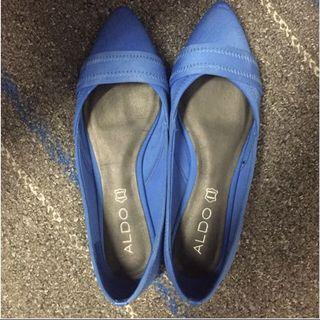 🚚 Very New Aldo Electric Blue Flats