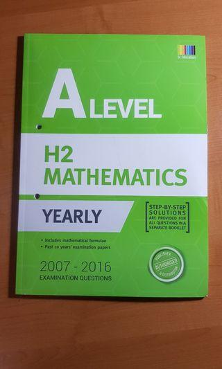 🚚 A Level H2 Math TYS 2007-2016 with solutions