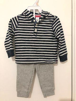 Baju anak set carter original