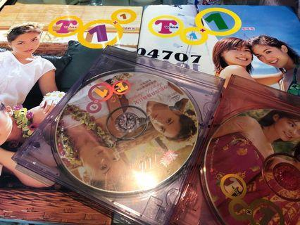 Twins 絕版1+1寫真集連VCD