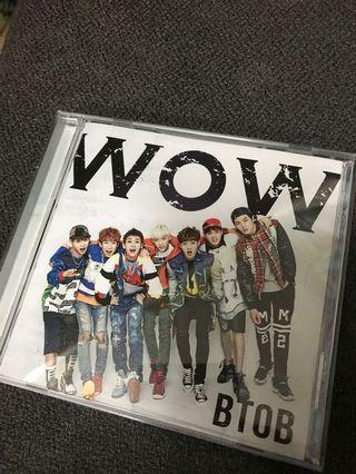 BTOB WOW jp single