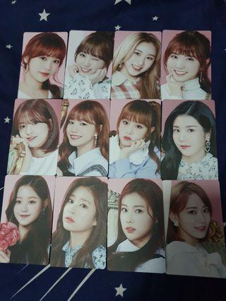 🚚 IZ*ONE unofficial photo cards