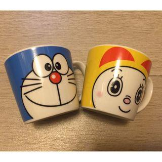 叮噹叮嚀 杯一套 Doraemon & Dorami Mugs in set