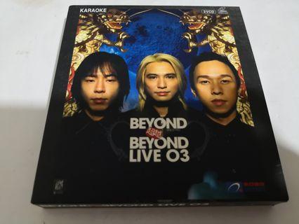 BEYOND超越2003演唱會。VCD(整套新淨無花)