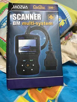 Scanner  by multi system