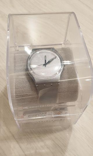 Swatch watch silver new