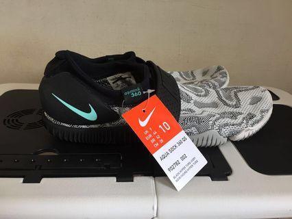 Nike Aqua Sock 360 QS 雪花灰襪套式跑鞋 US10=28cm