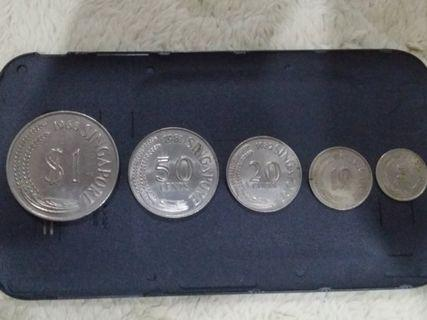 Singapore Old Coins (1967-1982)