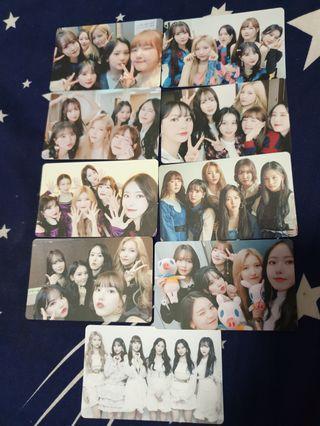 🚚 GFRIEND unofficial photo cards