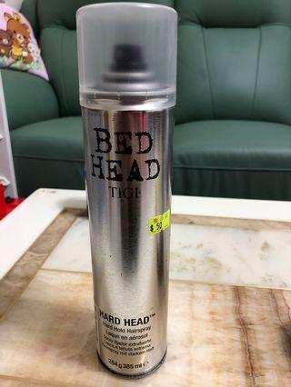 Bed head hold hairspray