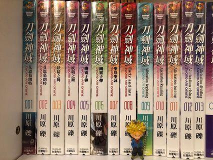 刀劍神域 Sword Art Online SAO 小說 1-13集