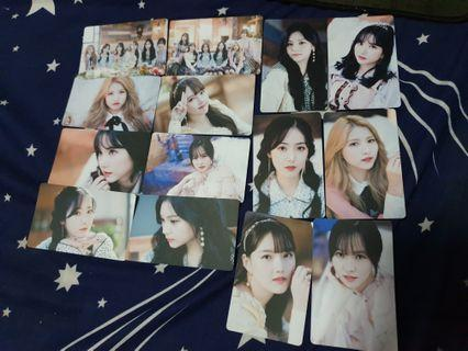 🚚 Gfriend unofficial photocards