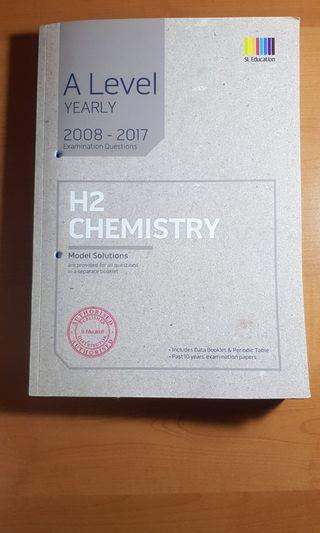 🚚 A Level H2 Chemistry TYS until 2017 with solutions