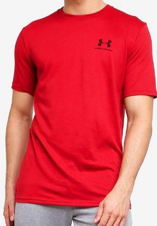 Under Armour red sport stylish shirt