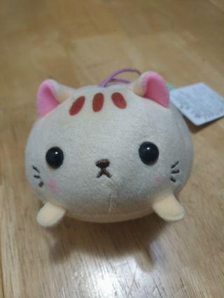 全新日本景品麻糬貓咪公仔吊飾