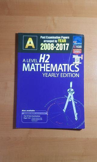 🚚 A Level H2 Math TYS until 2017 without solutions