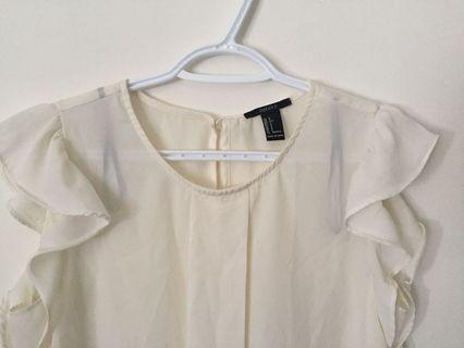 Forever 21 Shear Blouse (Size S)