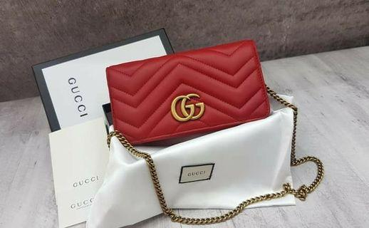 4865d3b2523 Gucci Marmont Wallet Sling