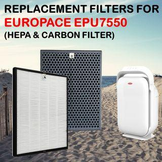 Compatible Filter For Europace EPU7550