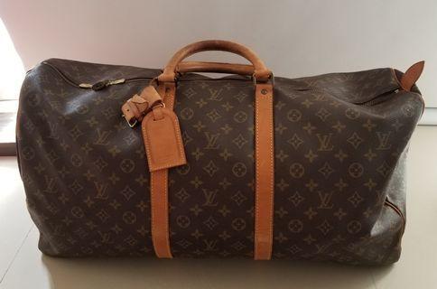 《請議價》LOUIS VUITTON Keepall 60 旅行袋