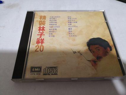 林子祥精裝20-CD(日本東芝版極新淨)1A2