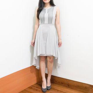 Grey Hilow Dress