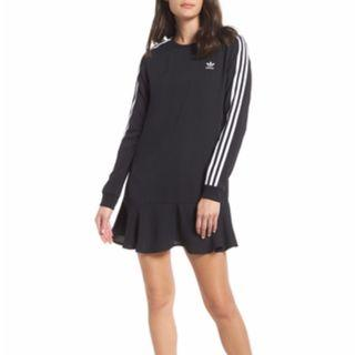adidas original flare hem dress