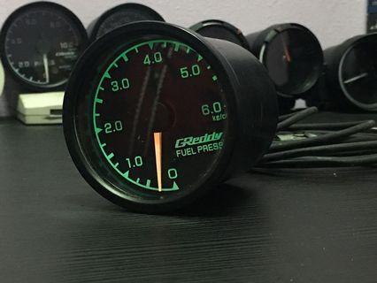 Greddy Fuel Pressure Meter 60mm