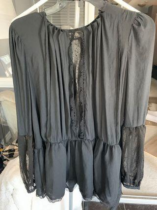 NWT FREE PEOPLE XS BLOUSE