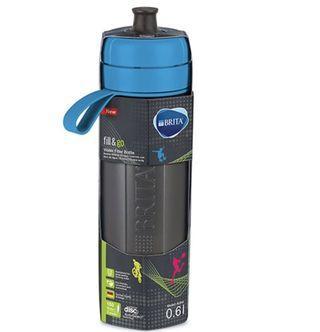 【德國BRITA】Fill&Go Active 運動濾水瓶600ml (藍色,內含1入濾片)